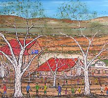 Australia Day Outback Style: Original by EJCairns;SOLD by EJCairns