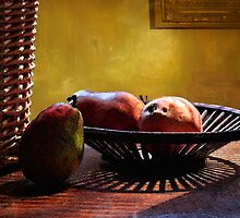 Pears in Morning Light - 2 by Larry3