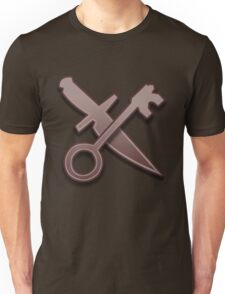 Guild Wars 2 Inspired Thief logo Unisex T-Shirt