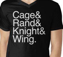 Cage& Mens V-Neck T-Shirt