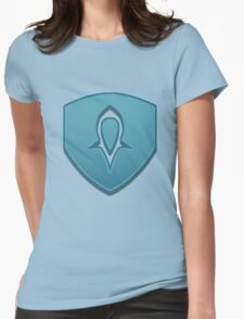 Guild Wars 2 Inspired Guardian logo Womens Fitted T-Shirt