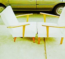 Chair Pair.... #1 by Juilee  Pryor
