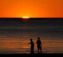 Sunset at Grange by Helen Vercoe