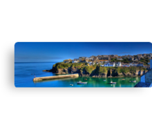 Port Isaac Cornwall Canvas Print