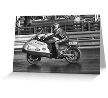 The Old Honda Racing Greeting Card