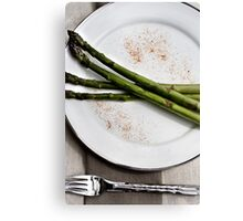 appetising asparagus Canvas Print