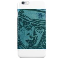 Tom Baker - Dr Who Print iPhone Case/Skin
