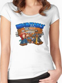 Indubitably Women's Fitted Scoop T-Shirt