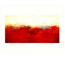 Abstract Colors Oil Painting #1 Art Print