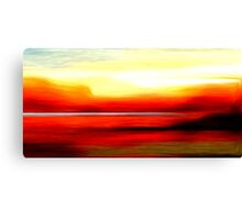 Abstract Colors Oil Painting #2 Canvas Print