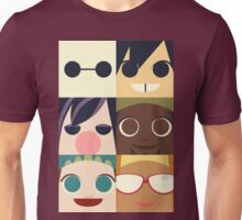 Big Hero Squares Unisex T-Shirt