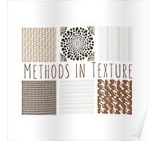 Methods in Texture Poster