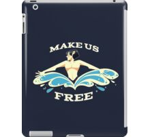 Liberate him iPad Case/Skin