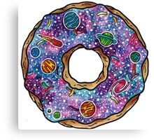Homer Simpson - Donut Shaped Universe Canvas Print