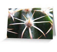 Green Protector Greeting Card