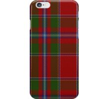 00231 Perthshire or Drummond of Perth District Tartan iPhone Case/Skin