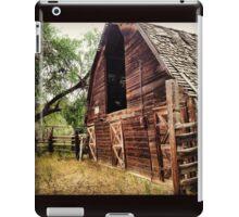 Rustic, Abandoned, Red Hay Barn iPad Case/Skin