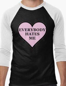 Everybody Hates Me Men's Baseball ¾ T-Shirt