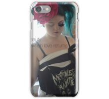 Beauty When Love Returns  iPhone Case/Skin