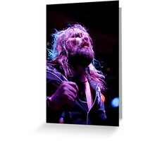 Electric Mary Melbourne Rock band Greeting Card
