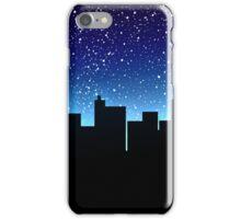 Night's City Skyline iPhone Case/Skin