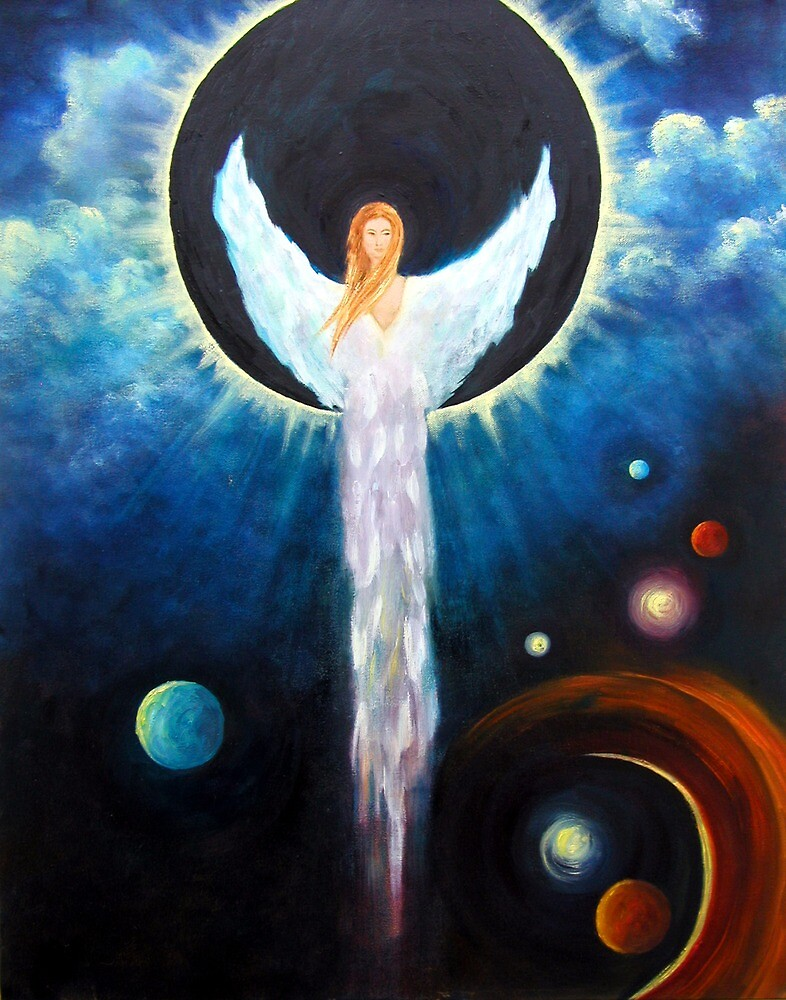 """""""Angel Of The Eclipse"""" by MarinaPetro"""