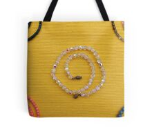 Multi colored beads  Tote Bag