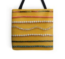 Multi colored beads Tote Bag