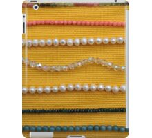 Multi colored beads iPad Case/Skin