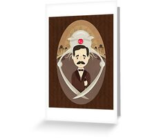 H. G. Wells Greeting Card