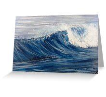 Crashing surf Greeting Card