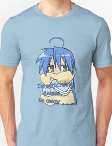 lucky star konata izumi i'm watching anime go away anime manga shirt T-Shirt