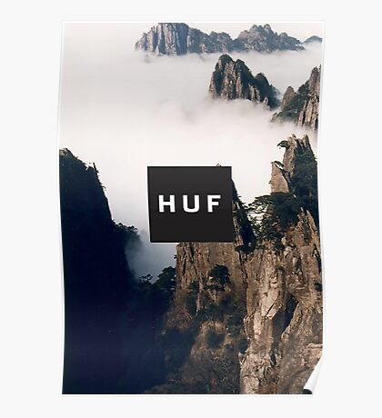 HUF - CLOUDED MOUNTAINS Poster