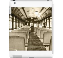 Travelling in time iPad Case/Skin