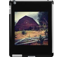 Distressed Red Barn  iPad Case/Skin