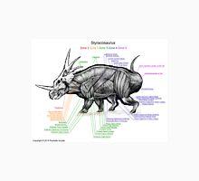 Styracosaurus Muscle Study Unisex T-Shirt