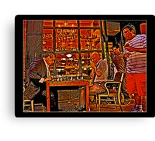 The Chess Masters Canvas Print