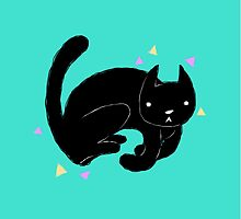 Jumpy Cat by malkoh