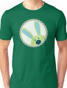 BUNNIES :: peeking circle 3 Unisex T-Shirt