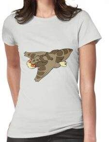flap flap Womens Fitted T-Shirt