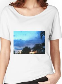 Countryside sunset Women's Relaxed Fit T-Shirt