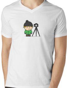 I Am - Photographer Mens V-Neck T-Shirt