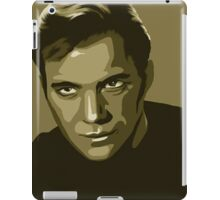 Captain Kirk stylized in gold (Star Trek) iPad Case/Skin