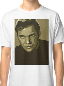 Captain Kirk stylized in gold (Star Trek) Classic T-Shirt