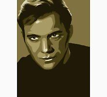 Captain Kirk stylized in gold (Star Trek) Unisex T-Shirt