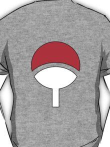 naruto shippuden sasuke uchiha crest symbol anime manga shirt T-Shirt