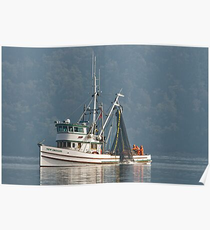 New Oregon Fishing XI  The Catch Poster