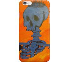 Blue City On Skull iPhone Case/Skin