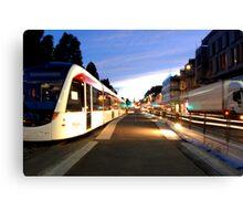 Edinburgh Trams Canvas Print