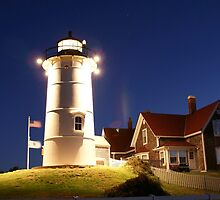 Knobska Lightouse by Russell L. Frayre / Photographer